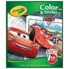 Crayola Cars 3 - Color&Sticker Book Libro/album da colorare