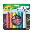 Crayola GESSI PER ESTERNO GLITTER confezione 6 pezzi