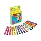 Crayola PASTELLI A CERA TRIANGOL. MK confezione 12 pezzi