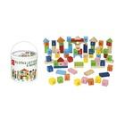 Dal Negro 053858 Blocks lettere e numeri 75pz