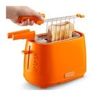 De Longhi DeLonghi CTLAP2203.O tostapane 2 fetta/e Arancione 550 W