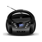 Denver TDB-10 Stereo Analogico 1,8 W Nero