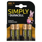 Duracell Goobay LR6 4-BL Duracell Simply Batteria monouso Stilo AA Alcalino
