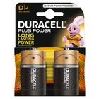 Duracell Plus Power Batteria monouso D Alcalino 1,5V
