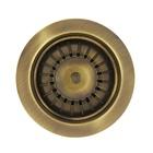 Elleci APM1VCTPGO O-ring di Scarico a pavimento 9mm
