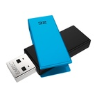 EMTEC C350 Brick 2.0 USB 32 GB USB A Nero, Blu