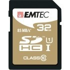 EMTEC 32GB SDHC CL.10 Gold Plus 85Mb/24Mb U1