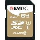 EMTEC SDXC 64GB CL.10 Gold Plus 85Mb/24Mb U1