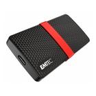 EMTEC X200 512 GB SATA III Nero, Rosso