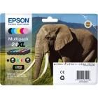 Epson Multipack 24XL 6 cartucce Serie 24XL elefante