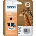 Epson T0711H Twin Pack