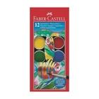Faber Castell Faber-Castell 125012 pittura lavabili Blu, Verde, Rosso, Giallo