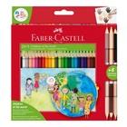 Faber Castell Faber-Castell 201745 pastello colorato 27 pezzo(i) Multicolore