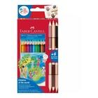 Faber Castell Faber-Castell Colour Grip pastello colorato 13 pezzo(i) Multicolore