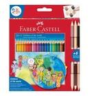 Faber Castell Faber-Castell Colour Grip pastello colorato 23 pezzo(i) Multicolore