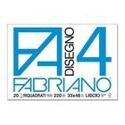 FABRIANO Blocco FA/4 20 Fogli 33 x 48 cm riquadrato