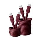 FRESH 'N REBEL 2CCC300RR cavo USB 3 m USB C Rosso