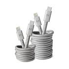 FRESH 'N REBEL 2CLC300IG cavo per cellulare Grigio USB C Lightning 3 m
