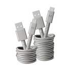 FRESH 'N REBEL 2UCC150IG cavo USB 1,5 m USB A USB C Grigio