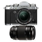 Fujifilm X-T3 Silver + XF 18-55mm f/2.8-4 + XF 55-200mm f/3.5-4.8 Fujinon Nero