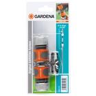 Gardena 18283-20 Connettore per tubo Grigio, Arancione, Argento 1 pezzo(i)