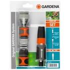 Gardena 18291-20 Ugello a spruzzo d'acqua da giardino Nero, Grigio, Arancione, Argento