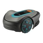 Gardena SILENO Minimo Tagliaerba robotizzato Batteria Nero, Blu