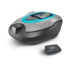 Gardena smart SILENO+ 1600 Tagliaerba robotizzato Nero, Blu, Grigio Batteria