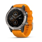 Garmin Fēnix 5 Plus 240 x 240 Bluetooth Nero, Arancione