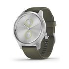 Garmin vívomove Style smartwatch Argento AMOLED GPS (satellitare)