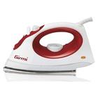 GIRMI ST01 Ferro da stiro a secco e a vapore Inox 1800 W Rosso, Bianco
