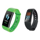 GOCLEVER Smart Band Maxfit Plus IP67 TFT Senza Fili Nero