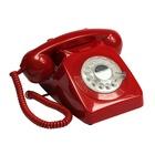 GPO Retro 746 Telefono analogico Rosso
