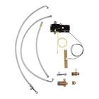 Grohe 30309000 Set di comando a pedale del rubinetto Metallo, Plastica Metallico