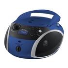 Grundig GRB 4000 BT Digitale Nero, Blu, Argento