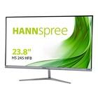 "Hannspree Hanns.G HS 245 HFB LED 23.8"" Full HD Opaco Nero, Argento"
