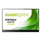 """Hannspree HT 161 CGB Touch 15.6"""" 60Hz Nero, Argento"""