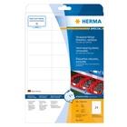 Herma 4573 etichetta autoadesiva Bianco Rimovibile 480 pezzo(i)