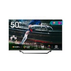 "HISENSE 50U72QF TV 50"" 4K Ultra HD Smart TV Wi-Fi Nero, Grigio"