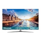 "HISENSE H55U8B 54.6"" 4K Ultra HD Smart TV Wi-Fi Nero, Argento"