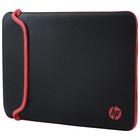 Hp 14 Black/Red Neoprene Sleeve