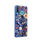 HUAWEI PC Cover Floral Blu per P30 Lite