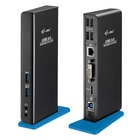 I-TEC USB 3.0 Dual Docking Station HDMI DVI