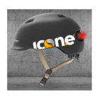 ICON.E Helmet Air Lampeggiante Nero
