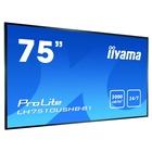 """IIyama LH7510USHB-B1 75"""" LED 4K Ultra HD Nero"""