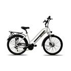 "Jeep City Bike T26R 26"" 25km/h 250W Bianco, Nero"