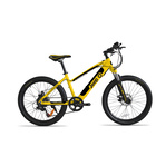 Jeep Teen Bike M24e 30km 250W 25km/h Giallo,Nero