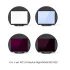 Kase Set Filtri Clip 4-in-1 MCUV/Neutral N/ND64/ND1000 per Fuji GFX50 – GFX100