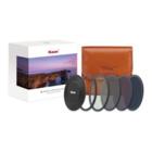 Kase Wolverine Professional ND Kit Filtri Magnetici CPL, ND8, ND64, ND1000