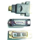 KEY-TECK Adattatore da HDMI a DVI-I M/M